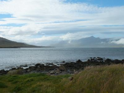 Суровая стихия Исландии - вид 1 Исландия фиорд