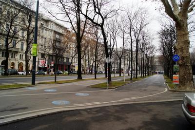 На улицах Вены
