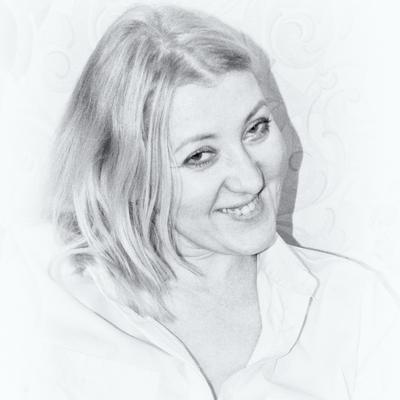 *** девушка портрет черно белое фото