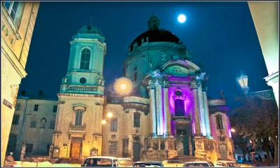 Вечерний город (16) архитектура,город,вечер,храм,история