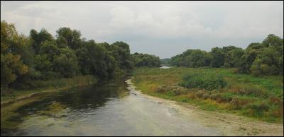 * * * река Оскол