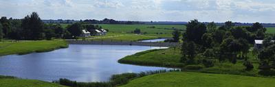 Вид на Куликово поле со смотровой площадки Куликово поле Тульская область вид со смотровой площадки