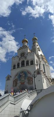 храм Всех Святых.Минск Православный храм Минск Всех Святых Беларусь