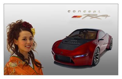 Автосалон 2008 - Mitsubishi-RA Автосалон 2008 Mitsubishi-RA концепт