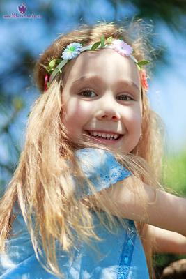 Солнечная красавица портрет девочка лето