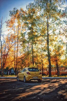Autumn for Opel opel corsa opc variart