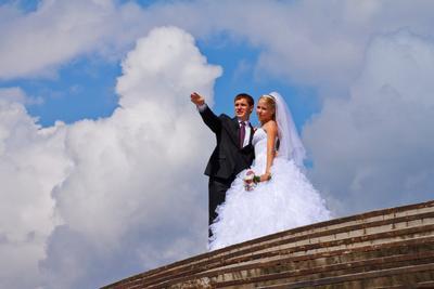 Вот это облако наше! свадьба, wedding, облака, люди, clouds, people