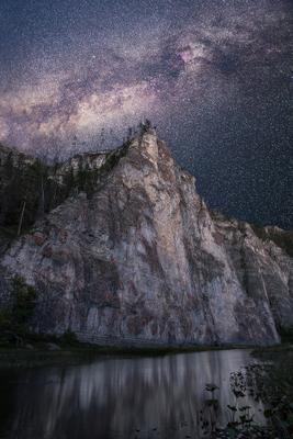 Под покровом звезд Урал горы Мамбет