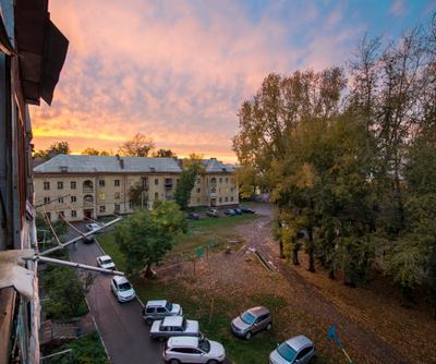 *** фото сони тамрон панорама закат город архитектура уфа
