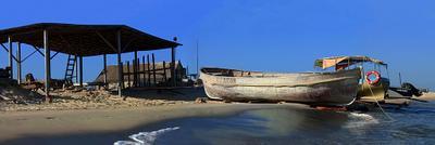 рыбацкий стан море, песок, берег, волны, лодка, катер, рыбацкий стан, домик