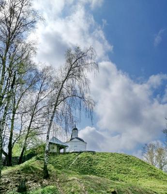 Весна в Тарусе.