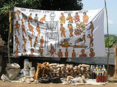 Про африканских докторов сьерра-леоне