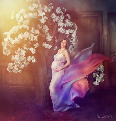 *** Беременная фотосессия для беременных будущие мамы девушка ткани дерево тувиста