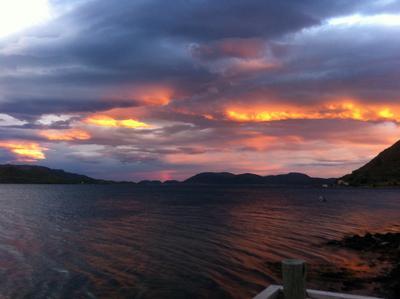 ...Норвегия... шторм в Норвегии за полярным кругом погода менялась каждый час