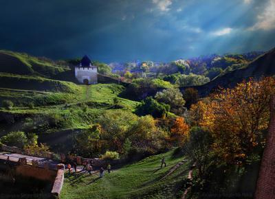 Солнечная долина в Хотине Замки-крепости-Украины замок Крепость Украина Хотин Хотинская-крепость Каменец-Подольский