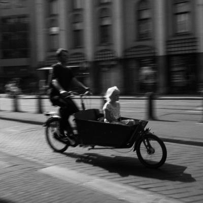 Амстердам Амстердам дети велосипед