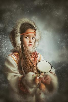 Скандинавочка скандинавия скадндинавочка северяночка снег девочка