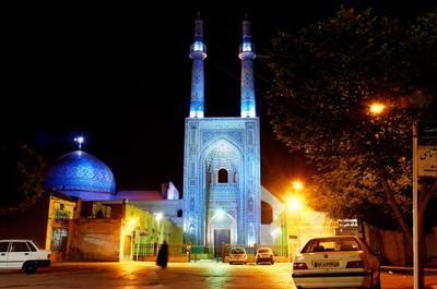 Мечеть. Язд. Иран. мечеть язд иран