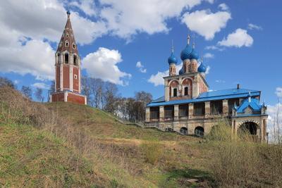 Казанско-Преображенская церковь в г. Тутаев.