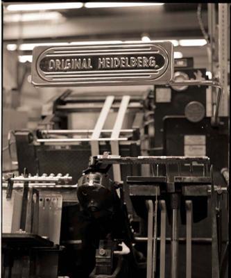 old-timer Heidelberg, Original, oldtimer, печатный станок, олд-таймер, типография, сепия, 6х6, старина, раритет, сепия, механизм, железо