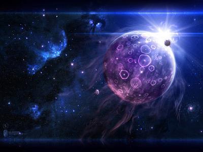 Jellyfish | Медузы jellyfish planet exosphere flare sun explosion circles future space neb stars медуза планета туманность созвездие звезды космос будущее взрывы круги