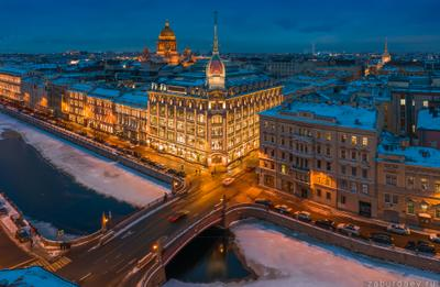 Au pont rouge россия петербург зима