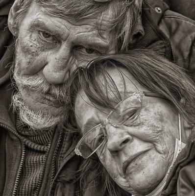 У финиша... Бездомные люди старость
