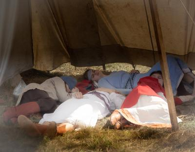 Стояние на реке Угра. В лагере-3
