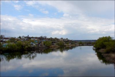 Широкий Карамыш деревня Поволжье