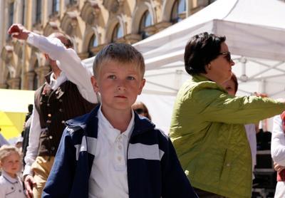 юный герой