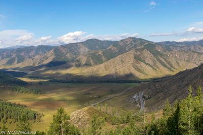 Тени Алтай Горный горы