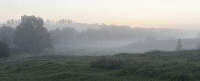 Встречая рассвет рассвет туман утро