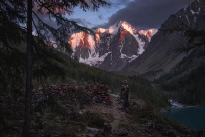 К трем вершинам Алтай горы Шавла