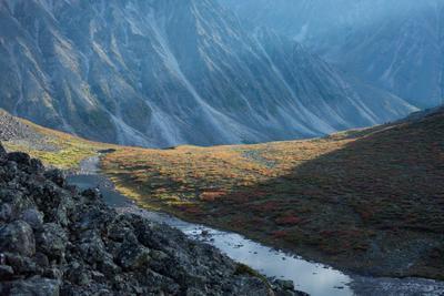 Так в Кодар приходит осень осень Кодар горы