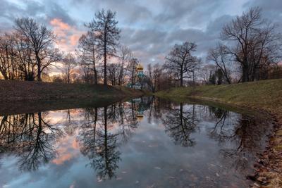 про почти наступившую весну... пушкин царское село весна федоровский феодоровский собор