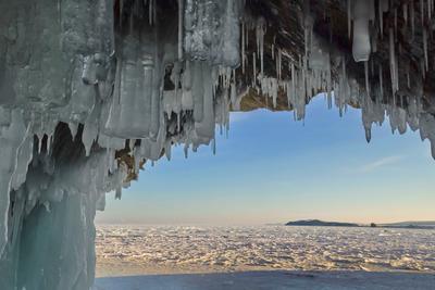 Гроты Байкала.. байкал малое море ледяной грот февраль