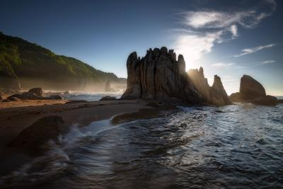 *** В легком тумане *** приморский край море солнце рассвет владивосток заповедник скалы