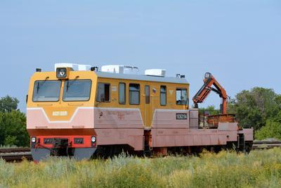 Автомотрисса служебно-грузовая АСГ-30П поезда железная дорога мотрисы автомотрисы АСГ-30П