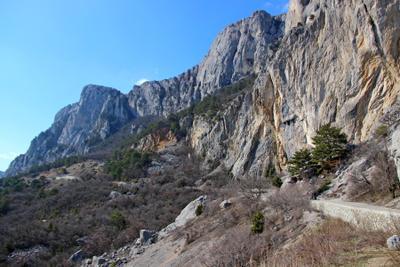 Байдаро-Кастропольская стена крым горы заповедник