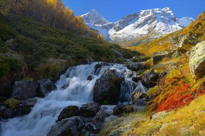 Малая Дукка горы Кавказ утро Архыз