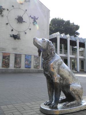 Памятник «Белый Бим Черное Ухо» Воронеж Памятник