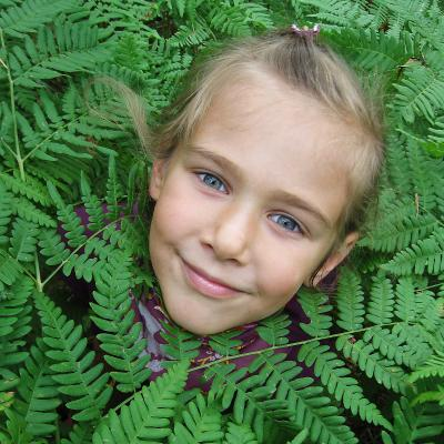 Цветок папоротника Kasin портрет дети гламур glamour реклама портфолио Касин