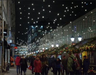 Москва новогодняя (8) Новый год Рождество Москва город