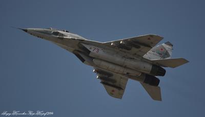 МиГ-29УБ самолёт
