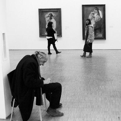 Дремлющий сторож музея Помпиду