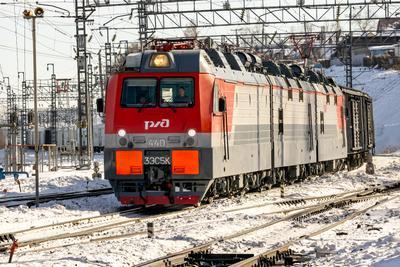 3ЭС5К-440 railway железная дорога locomotive локомотив электровоз поезд train Russia Siberia Irkutsk Россия Сибирь Иркутск споттинг spotting