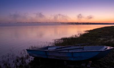 На рыбалку? fujifilm природа река X-T4 fujinon обь дубровино утро туман рассвет