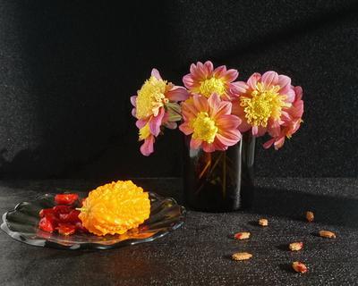 *** цветы фрукты