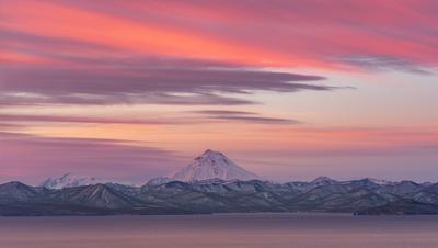 От  заката до рассвета Камчатка вулкан