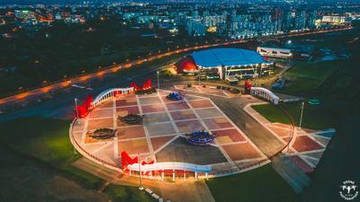 Красивый Кемерово 2021 Московская площадь Кемерово красивый 2021 СДС